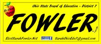 Sarah Fowler - Ohio State Board of Education, District 7